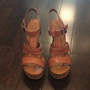 Cute wedge sandals